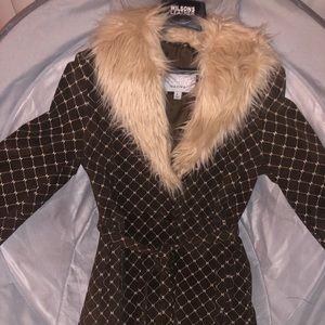 BNWT Wilson's Leather Rare Suede Coat